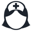 иконки  nurse, медсестра, врач, доктор,