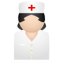 иконки nurse, медсестра, врач, доктор,