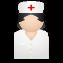 иконка nurse, медсестра, врач, доктор,