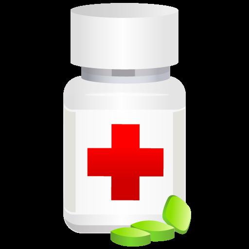 иконка medical pot pills, таблетки, медицина, пузырек,
