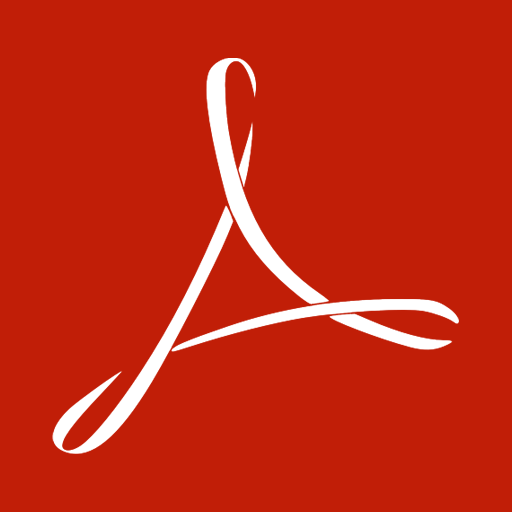 иконка adobe acrobat reader,