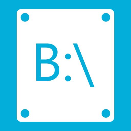 иконки B,