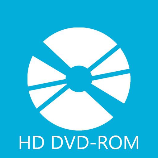 иконки HD DVDROM,