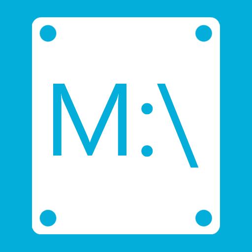иконка M,