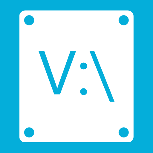 иконка V,