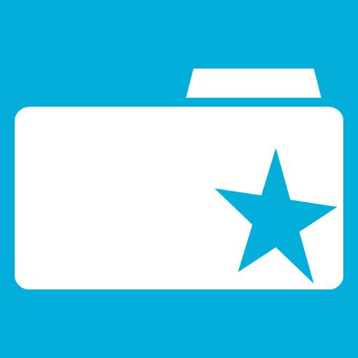 иконки Bookmarks Folder, папка, закладки,