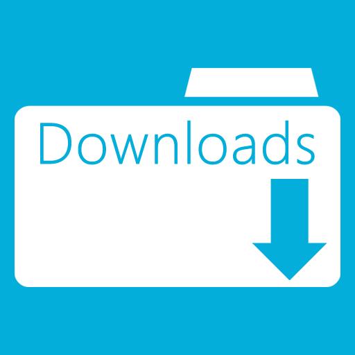 иконки Downloads Folder, загрузки, папка,