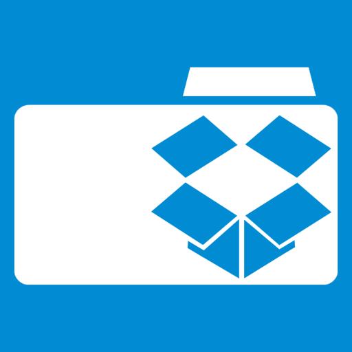 иконки Dropbox Folder, папка,