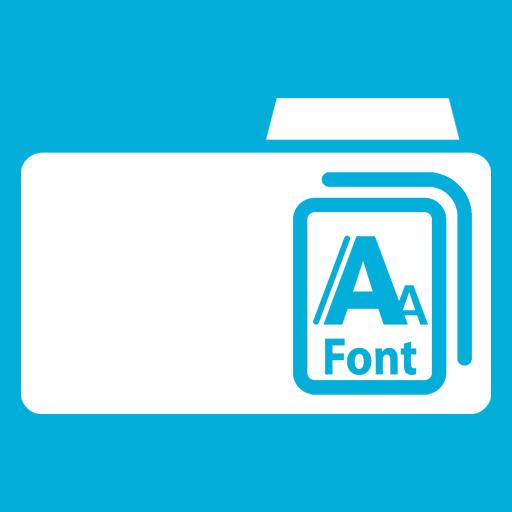иконки Fonts, шрифты,
