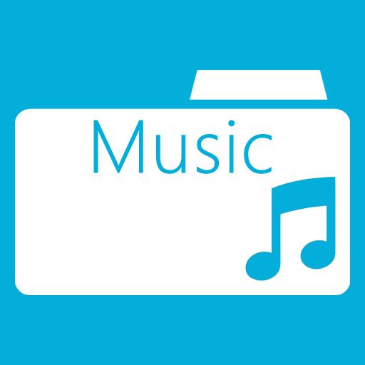 иконка music folder, моя музыка, папка,
