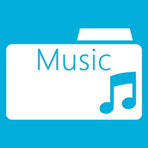 иконки music folder, моя музыка, папка,