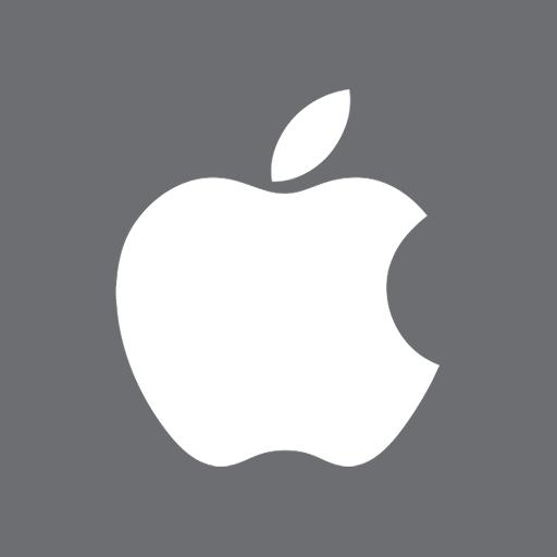 иконки OS Apple,