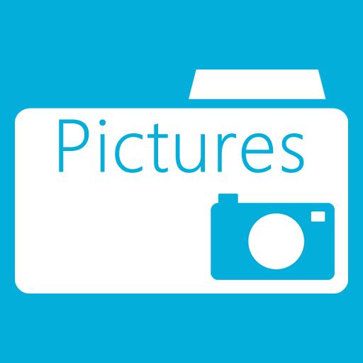 иконка pictures folder, мои изображения, папка, мои фотографии,