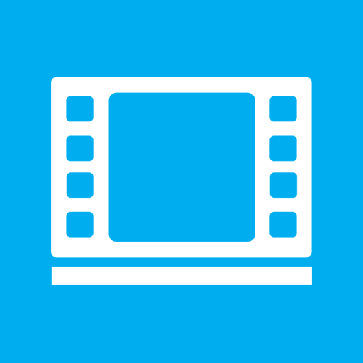 иконки Videos Library, видеобиблиотека,