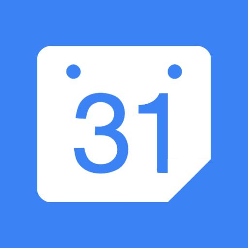 иконки Google Calendar, календарь,