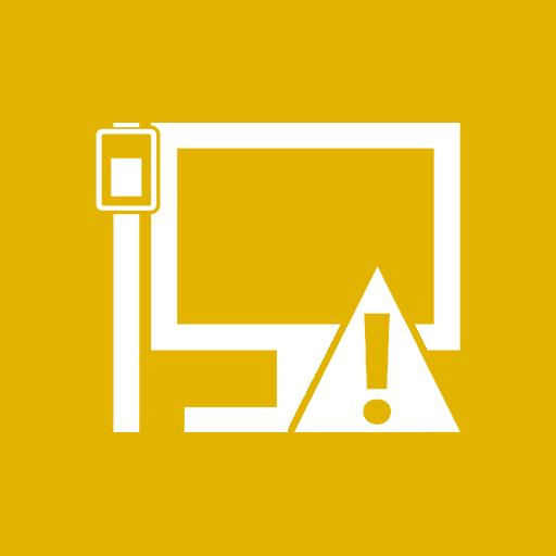 иконка LAN Caution,