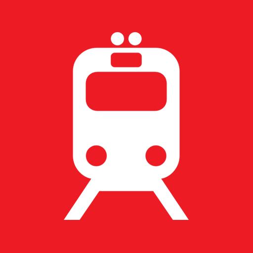 иконка поезд,