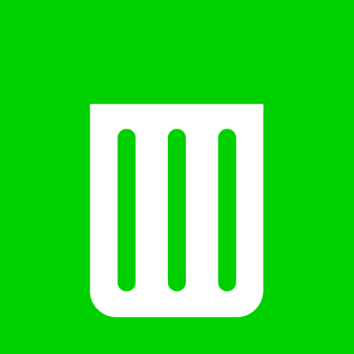 иконка recycle bin empty, пустая корзина, пустой бак,