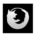 иконка firefox, файрфокс, браузер,