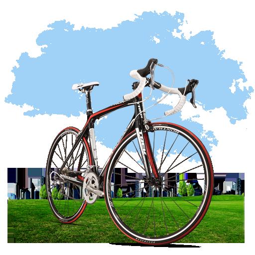 иконка bicycle, велосипед,