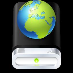 иконки Drive, диск, сервер,