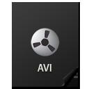 иконки Files, AVI, файл,