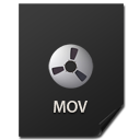 иконки Files, MOV, файл,