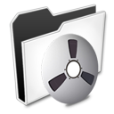 иконки  Folder, Audio, Video, папка, мультимедиа,