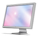 иконки  Cinema Display, монитор, дисплей, компьютер, monitor,