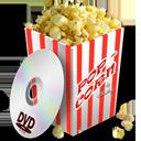 иконки Popcorn, попкорн,