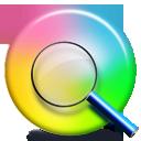 иконка Color Find, цветовой спектр,