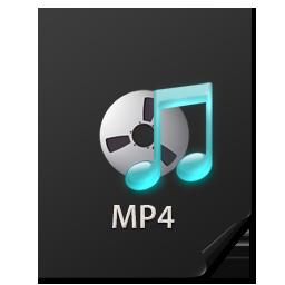 иконка Files, MP4, файл,