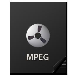 иконка Files, MPEG, файл,