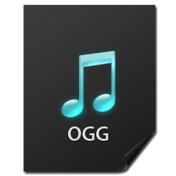 иконки Files, Ogg, файл,
