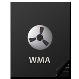 иконки Files, WMA, файл,