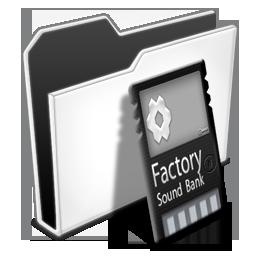 иконка Folder, Factory Bank, папка,
