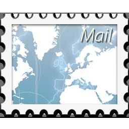 иконки Mail, почтовая марка,
