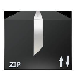 иконка Zip, Files, архив, коробка,