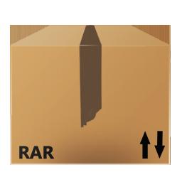 иконки Rar, Files, архив, коробка,