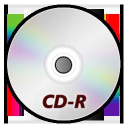 иконка CDR, диск,