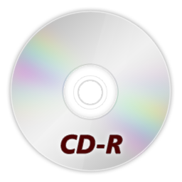 иконки CDR, диск,