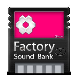 иконки Factory Bank, флешка,
