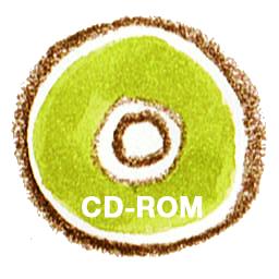 иконки CDROM, диск,