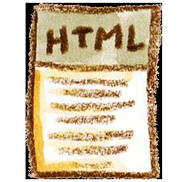 иконки html, файл, html, страница,