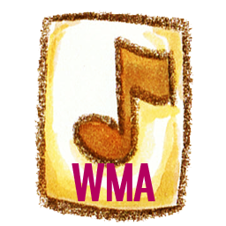 иконки wma, формат,