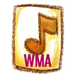 иконка wma, формат,