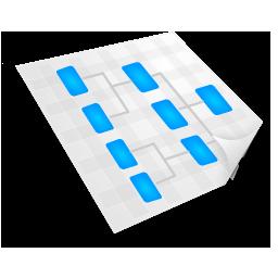иконка sitemap, flowchart, карта сайта,