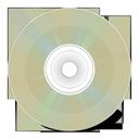 иконка CD arriere, диск,
