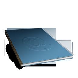 иконка cahier, контакты, адресная книга,