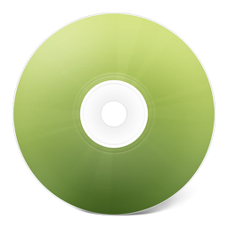 иконки CD avant vert, диск, болванка,